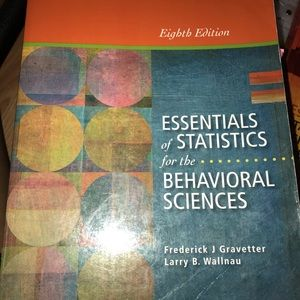 Essentials of Stats for the Beh. Sciences 8th Ed.